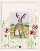 Derwentwater Designs Hare Cross Stitch Kit