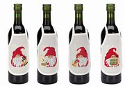 Santa Wine Aprons - Permin Cross Stitch Kit