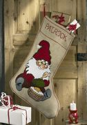 Gnome Stocking - Permin Cross Stitch Kit