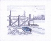 The Jetty - Permin Cross Stitch Kit