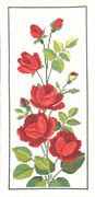 Rose Panel - Permin Cross Stitch Kit