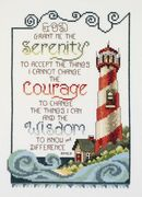 Janlynn Serenity Lighthouse Cross Stitch Kit