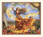 Dimensions Fall Fairy Cross Stitch Kit
