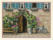 Dimensions Sorrento Hotel Cross Stitch Kit