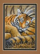 Cozy Cub - Dimensions Cross Stitch Kit