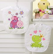 Dimensions Fairy Bibs Cross Stitch Kit