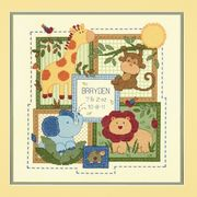 Savanah Birth Record - Dimensions Cross Stitch Kit