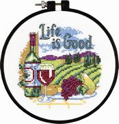 Life is Good - Dimensions Cross Stitch Kit