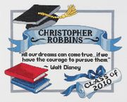 Janlynn Graduation Dreams Cross Stitch Kit