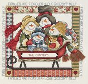Love Doesn't Melt - Janlynn Cross Stitch Kit