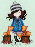 The Foxes - Bothy Threads Cross Stitch Kit