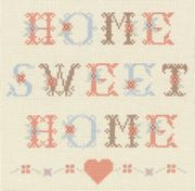 Home Sweet Home - Anchor Cross Stitch Kit