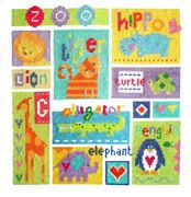 Zoo Sampler - Stitching Shed Cross Stitch Kit