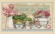 Flowers of Paris - Dimensions Cross Stitch Kit