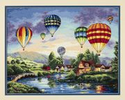 Balloon Glow - Dimensions Cross Stitch Kit