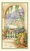 Dimensions Terrace Arch Cross Stitch Kit