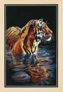 Dimensions Tiger Chilling Out Cross Stitch Kit