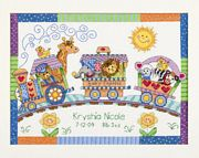 Baby Express Birth Record - Dimensions Cross Stitch Kit