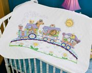 Baby Express Quilt - Dimensions Cross Stitch Kit
