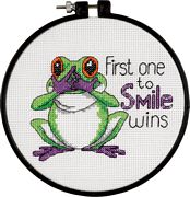 First One To Smile - Dimensions Cross Stitch Kit