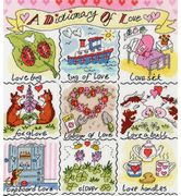 Dictionary of Love - Bothy Threads Cross Stitch Kit