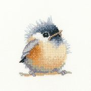 Chickadee - Aida - Heritage Cross Stitch Kit