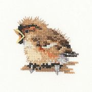 Sparrow - Aida - Heritage Cross Stitch Kit
