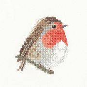 Robin - Evenweave - Heritage Cross Stitch Kit