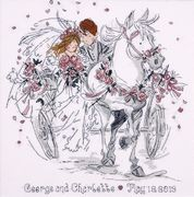 Design Works Crafts Wedding Carriage Cross Stitch Kit