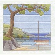 Derwentwater Designs Beach Cove Long Stitch Kit