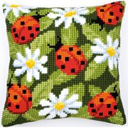 Vervaco Ladybirds and Daisies Cross Stitch Kit