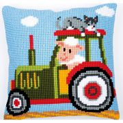 Tractor 1 - Vervaco Cross Stitch Kit