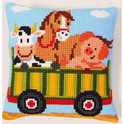 Vervaco Tractor 2 Cross Stitch Kit