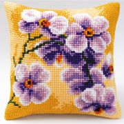 Vervaco Lilac Orchid Cross Stitch Kit