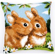 Vervaco Bunnies Cross Stitch Kit