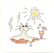 Mouseloft Hot enough to Melt Cross Stitch Kit