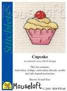 Mouseloft Cupcake Cross Stitch Kit