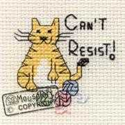 Mouseloft Can't Resist Cross Stitch Kit