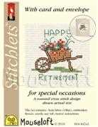 Mouseloft Happy Retirement Cross Stitch Kit