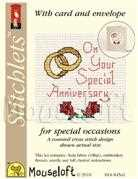 Mouseloft Special Anniversary Wedding Sampler Cross Stitch Kit