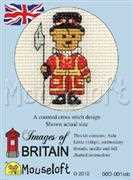 Beefeater Teddy - Mouseloft Cross Stitch Kit