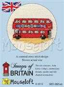 London Bus - Mouseloft Cross Stitch Kit