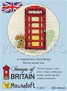 Red Telephone Box - Mouseloft Cross Stitch Kit