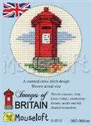 Red Pillar Box - Mouseloft Cross Stitch Kit