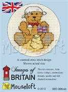 Teddy at the Beach - Mouseloft Cross Stitch Kit