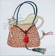 Leopard Bag - Design Works Crafts Cross Stitch Kit