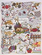 Design Works Crafts Stitching ABC Cross Stitch Kit