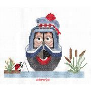 Abacus Designs Hamish Cross Stitch Kit
