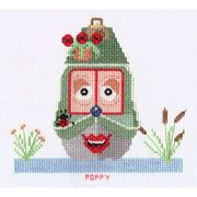 Abacus Designs Poppy Cross Stitch Kit