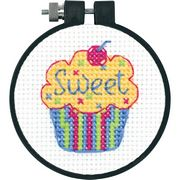 Dimensions Cupcakes Cross Stitch Kit